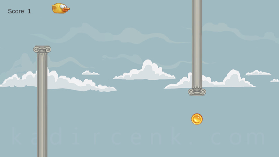 flappy cicikus in-game screen